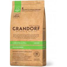 Grandorf корм для взрослых собак мини пород, ягненок с бурым рисом
