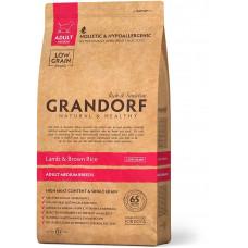 Grandorf корм для взрослых собак средних пород, ягненок с бурым рисом