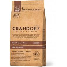 Grandorf корм для взрослых собак всех пород, утка